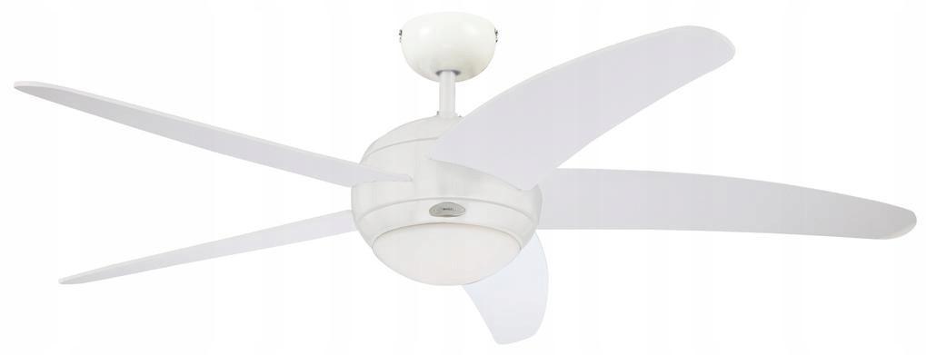 Люстра вентилятор wiatrak BENDAN 132cm белый