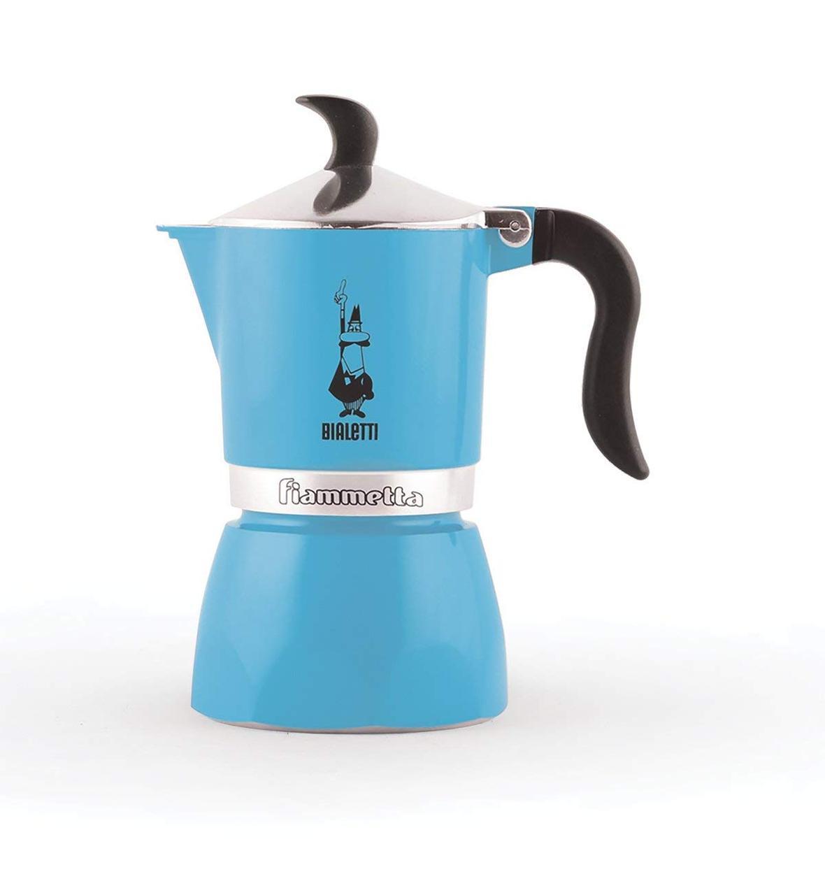 Гейзерная кофеварка Bialetti Fiammetta Blue (3 чашки - 170 мл)