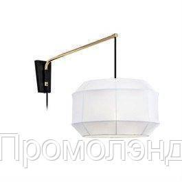 Настенный светильник CORSE Szwedzkie 1, белый