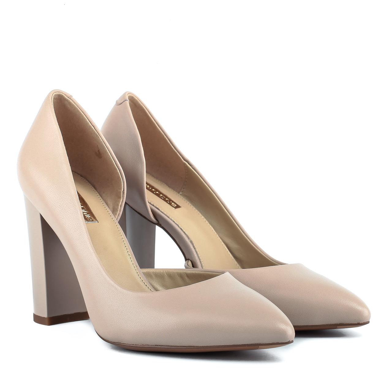 Туфли женские Anemone (изысканные, стильные, на каблуке, кожаные)
