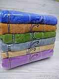 Комплект банных полотенец с вышивкой  Размер 70Х140 6 шт., фото 4