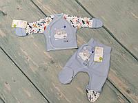 Комплект в роддом для новорожденного (интерлок), ТМ Happy Tot