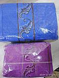Комплект банных полотенец с вышивкой  Размер 70Х140 6 шт., фото 5