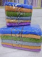 Комплект банных полотенец с вышивкой  Размер 70Х140 6 шт., фото 1