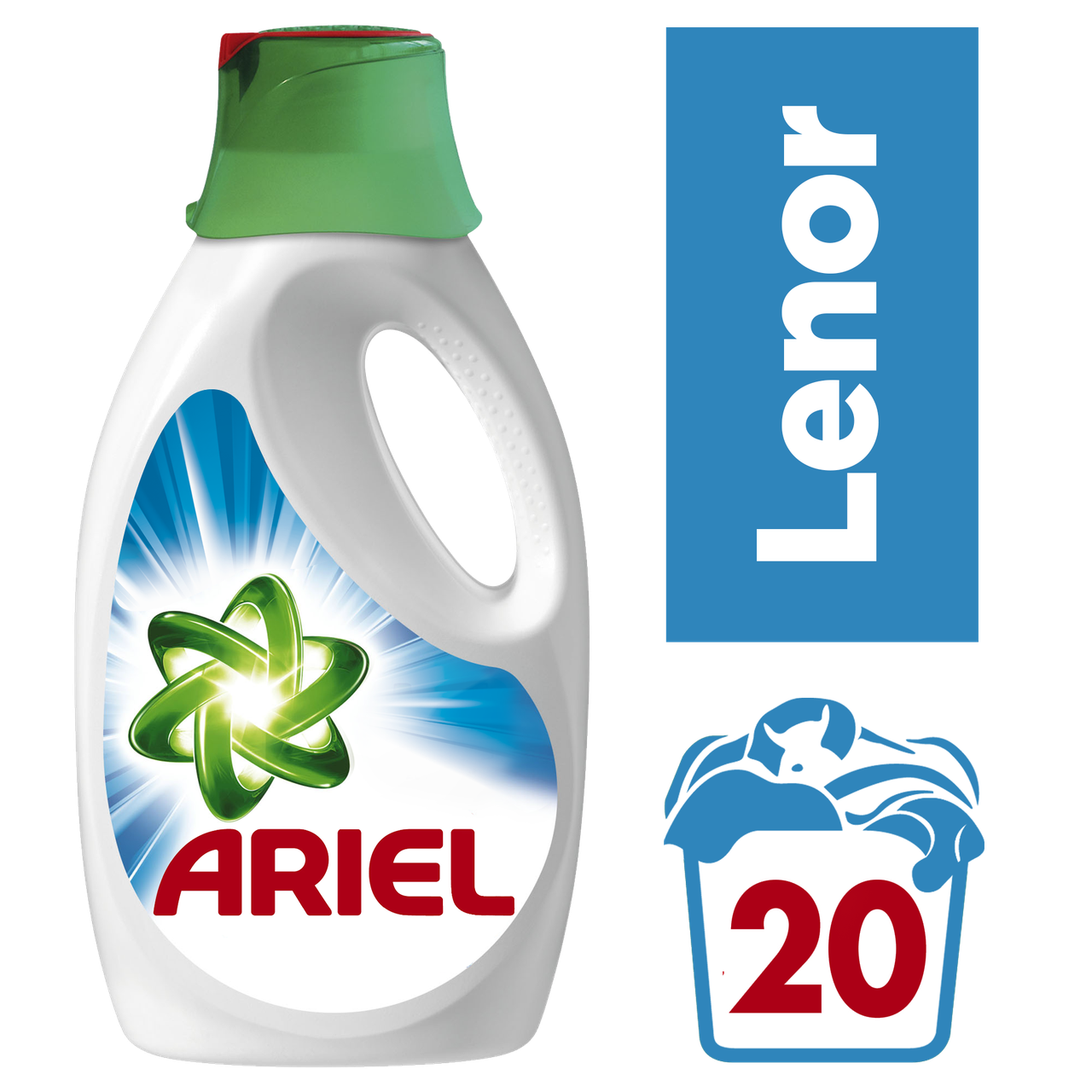 Жидкий стиральный порошок Ariel Touch of Lenor Fresh, 1,3л