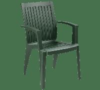 Кресло Papatya Ализе темно-зеленый