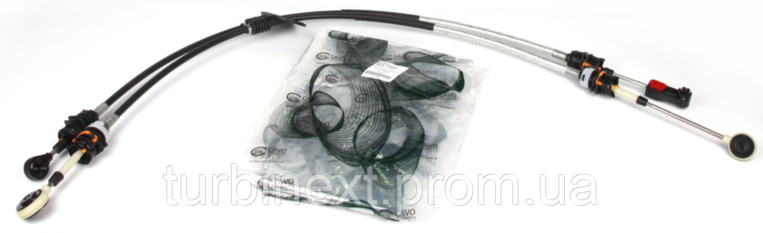 Трос кулисы CAVO 4614 604 Ford Connect 04-13 (1120-1240/890-905)