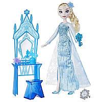 Набор кукла Эльза и набор мебели