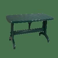 Стол Irak Plastik Oval 70x120 зеленый