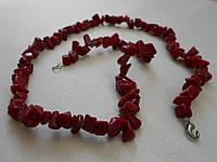 Ожерелье из красного камня ХХ век