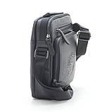 Черная мужская сумка, фото 2