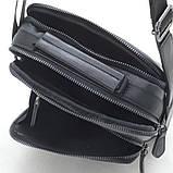 Черная мужская сумка, фото 5