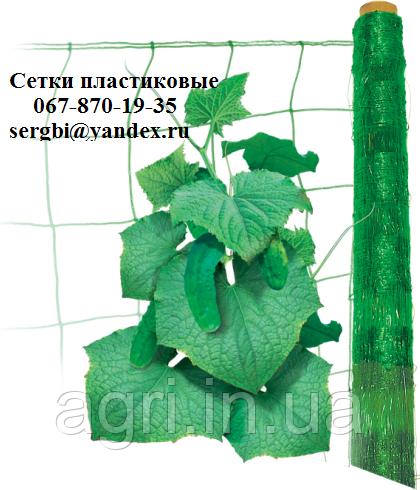 Сітка шпалерна огіркова (1.7*500м) Угорщина. Intermas