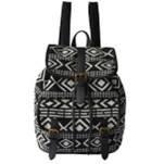 Рюкзак 2U-1415 Pattern чорний/молочний
