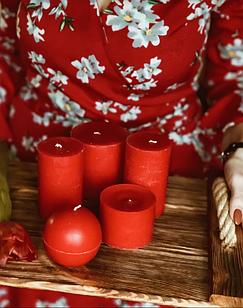 Ароматизований набір із 5 свічок
