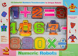 Цифровой трансформер Numeric Robots 500-21 (15 элементов)