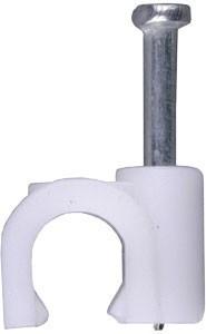 Скоба для кабеля 5 мм (упаковка 200 шт.)