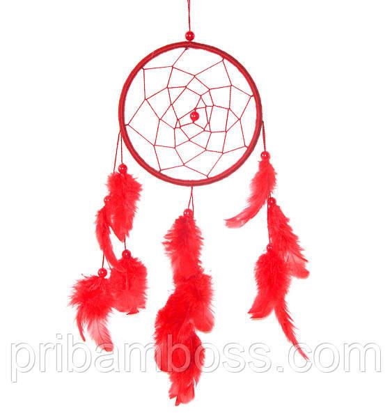 Ловец снов (15 см), красный