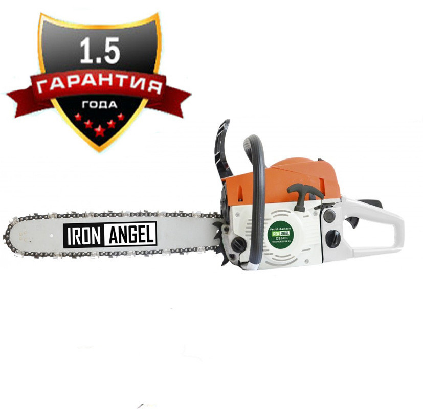 Бензопила Iron Angel СЅ600 напівпрофесійна