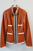 Куртка эко-кожа камни 42рр