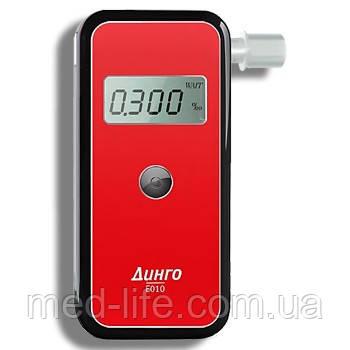 Алкотестер ДИНГО Е-010 (без USB и без кабеля) Праймед