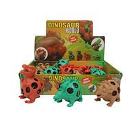 Игрушка антистресс динозавры 16 шт в уп