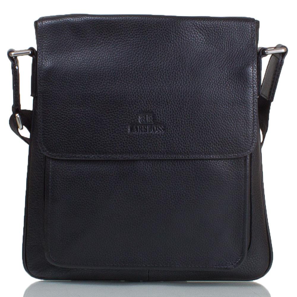 95830bf98d9f Сумка-почтальонка (мессенджер) Lare Boss Мужская кожаная сумка-почтальонка LARE  BOSS (