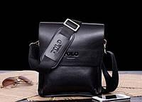 Мужская сумка POLO Videng - Качество (цв.Черный) - молодежная и современая сумка!