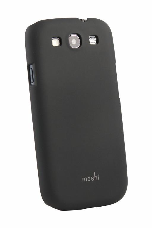 Накладка Samsung i9082 Moshi Black White