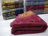Качественные полотенца в комплекте с вышивкой для лица Размер 50Х100 6 шт., фото 3