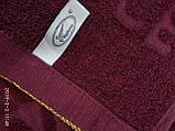 Качественные полотенца в комплекте с вышивкой для лица Размер 50Х100 6 шт., фото 4