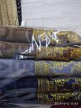 Качественные полотенца в комплекте с вышивкой для лица Размер 50Х100 6 шт., фото 10