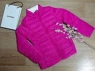 Стильная малиновая демисезонная куртка на девочку GAP (США) (Размер 10-11Т)