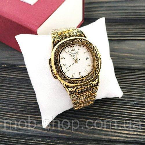 Китайские часы patek philippe quartz