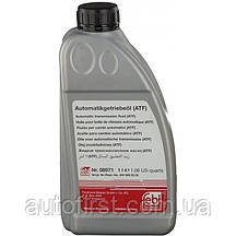 FEBI Жидкость ГУР/АКПП Dextron II (красная) (1L) ATF