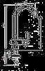 Смеситель для кухни EMMEVI RAMSES SC72007 мат-хром, фото 2