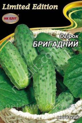 Огірок БРИГАДНИЙ 3г, фото 2