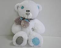 Мишка Тедди 56 х 31 см  белый