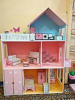 Кукольный домик из дерева, 110*90*30