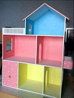 Игровой кукольный домик,110*90*30