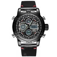 Чоловічий наручний годинник AMST 3022 Чорний (SUN3360)