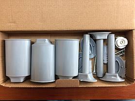 Алюминиевый полотенцесушитель 500*800, фото 2