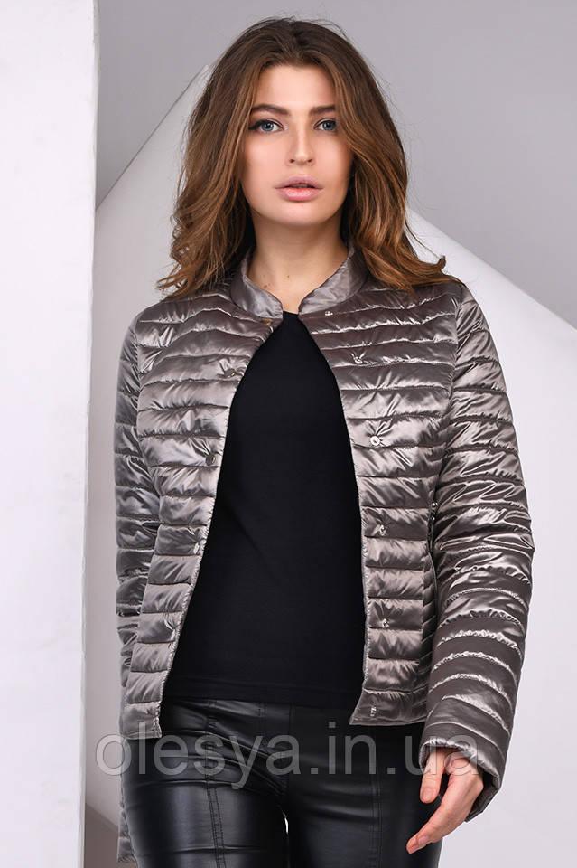 Модная легкая комфортная Куртка женская демисезонная 8824 X-Woyz Размеры 42- 48