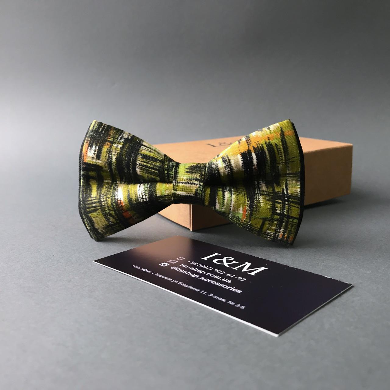 Краватка-метелик I&M Craft хакі (0102780)