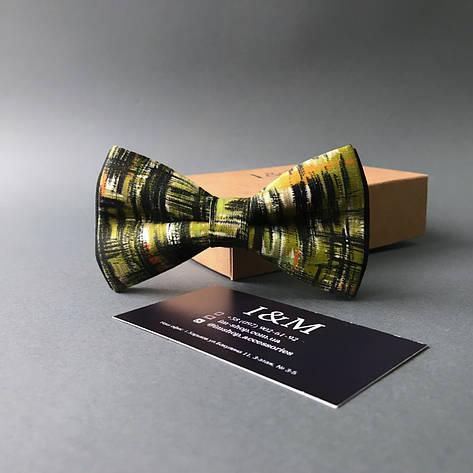 Краватка-метелик I&M Craft хакі (0102780), фото 2