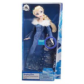 Поющая кукла Эльза - Холодное сердце (Frozen) принцесса Elsa Дисней куклы Disney, фото 2