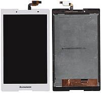 """Дисплей (экран) 8"""" Lenovo A8-50LC Tab 2, A8-50F, TB3-850M Tab 3, TB3-850F  с тачскрином в сборе, белый"""