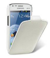 Чехол-флип Melkco для Samsung S7562 Galaxy S Duos белый