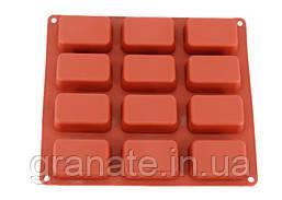 Форма силиконовая для выпечки Прямоугольник 28х25х2,5 см