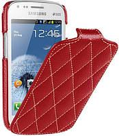 Чехол откидной Vetti Craft для Samsung Galaxy S Duos (S7562) red
